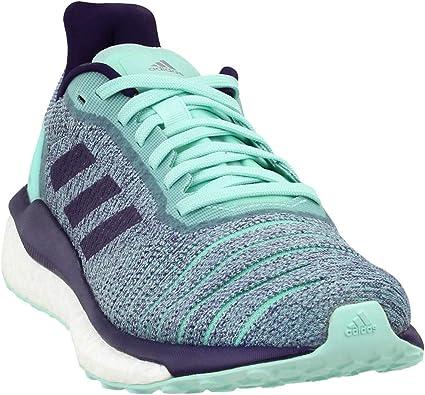 adidas Solar Drive - Zapatillas de Running para Mujer, Color Verde Menta/Morado, Color Morado: Amazon.es: Zapatos y complementos