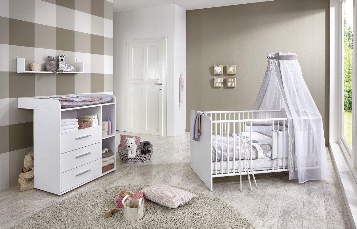 babyzimmer komplett weis babyzimmer pia holz wei roba setartikel komplette babyzimmer komplette. Black Bedroom Furniture Sets. Home Design Ideas