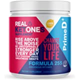 Real Ketones Keto Lean for Life (Prime D+) Exogenous Keto BHB and MCT Oil Powder for Ketosis in 1 Hour, 56 Servings…