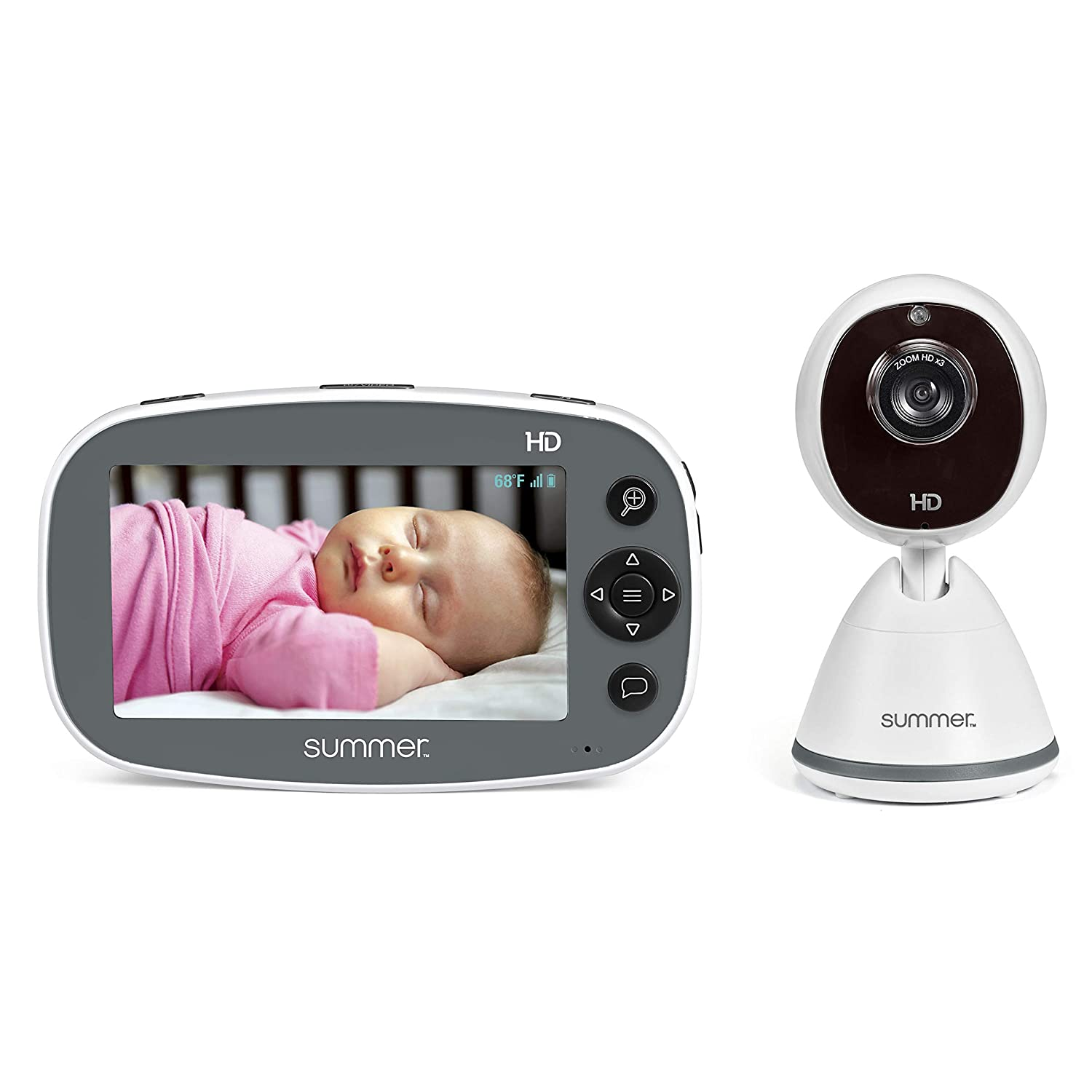 "Summer Infant Pure HD 4.5"" High Definition Color Video Baby Monitor (36203)"