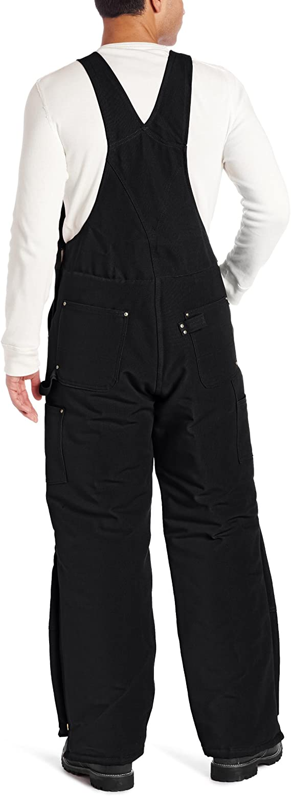 NOS NWT Carhartt Sherpa Lined Waist Overall Pants Duck Double Knee Made USA S