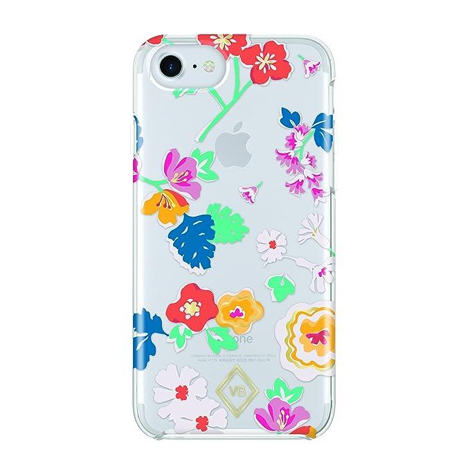 cheap for discount 0b53e f4ee5 Amazon.com: Vera Bradley Glitter Flurry Case for iPhone 8 & iPhone 7 ...