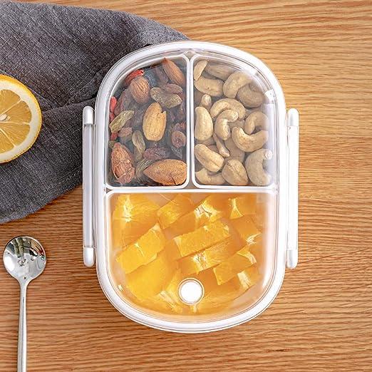 BaojunHT® - Fiambrera para el colegio con compartimento para ...