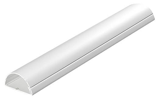 30 opinioni per D-Line Canalina passacavi, profilo grande, 50x 25mm, 1m, D-50/25 W 1X1M