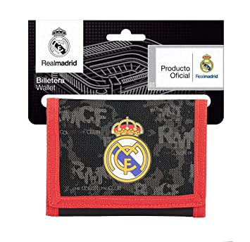 Safta Real Madrid Monedero, 12 cm, Negro: Amazon.es: Equipaje