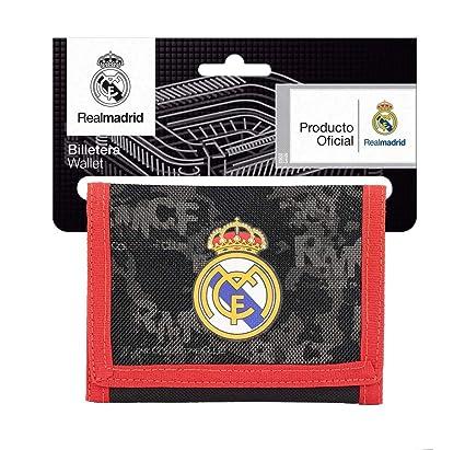 Safta Real Madrid Monedero, 12 cm, Negro