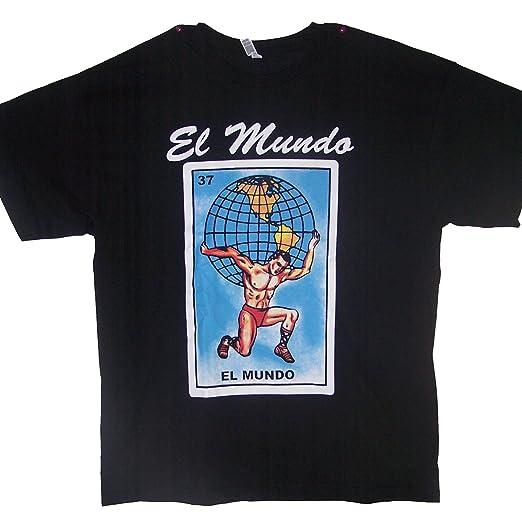 Assorted Styles T-shirts El Mundo Lottery T-Shirts Camisetas Loteria (MxTs310 Z