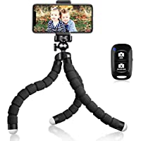 UBeesize Tripod S, Premium Flexible Tripod with Wireless Remote, Compatible with iPhone/Android, Mini Tripod Stand for…