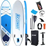 """Inflatable Stand Up Paddle Board with Accessories, 10'6 ×32""""×6"""" Non-Slip - Paddle Boards for Adults, Stand Up Paddle Board wi"""