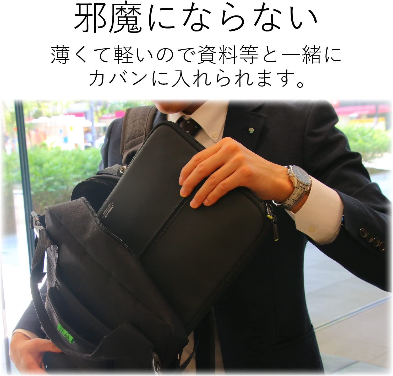 Image of エレコム パソコンケース 13.3インチ (macbook pro 13) 衝撃吸収 ZEROSHOCK スリム ブラック1
