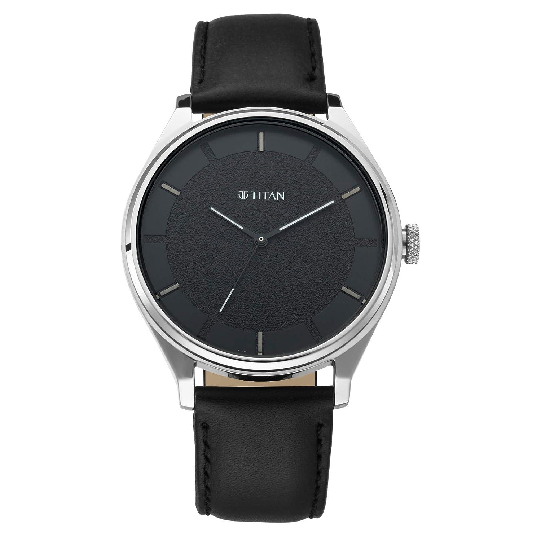 Titan Neo Analog Black Dial Men's Watch 1802SL11 Men's Watches