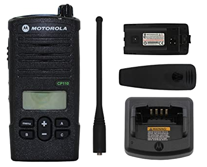 Motorola CP110 with Display UHF 16CH 450-470MHZ H96RCF9AA2AA Two Way Radio  CP110