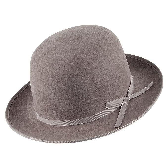 a6704df5d4d6e Brixton - Sombrero de vestir - para hombre Gris marrón Small  Amazon.es   Ropa y accesorios