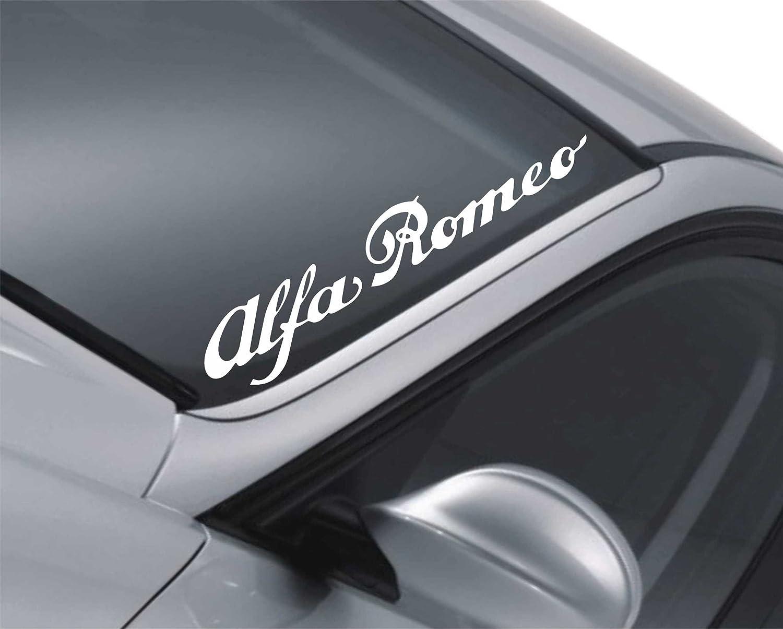 Kleber 6 x Alfa Romoe T/ürgriffe Premium Qualit/ät Aufkleber Autoaufkleber
