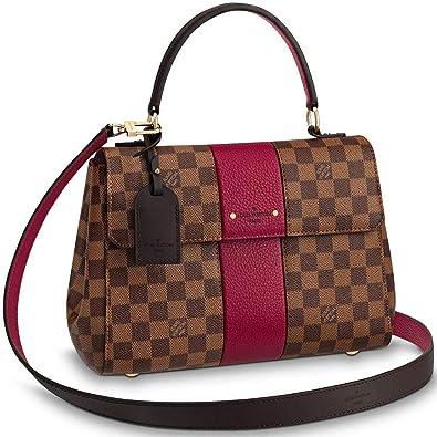 0cec274a0e27 Image Unavailable. Image not available for. Color  Louis Vuitton Damier  Ebene Top Handles Handbags Bond Street ...