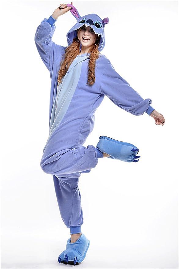 Disfraz Vu Roul de Lilo y Stitch estilo pijama de una pieza para adultos: Amazon.es: Ropa y accesorios