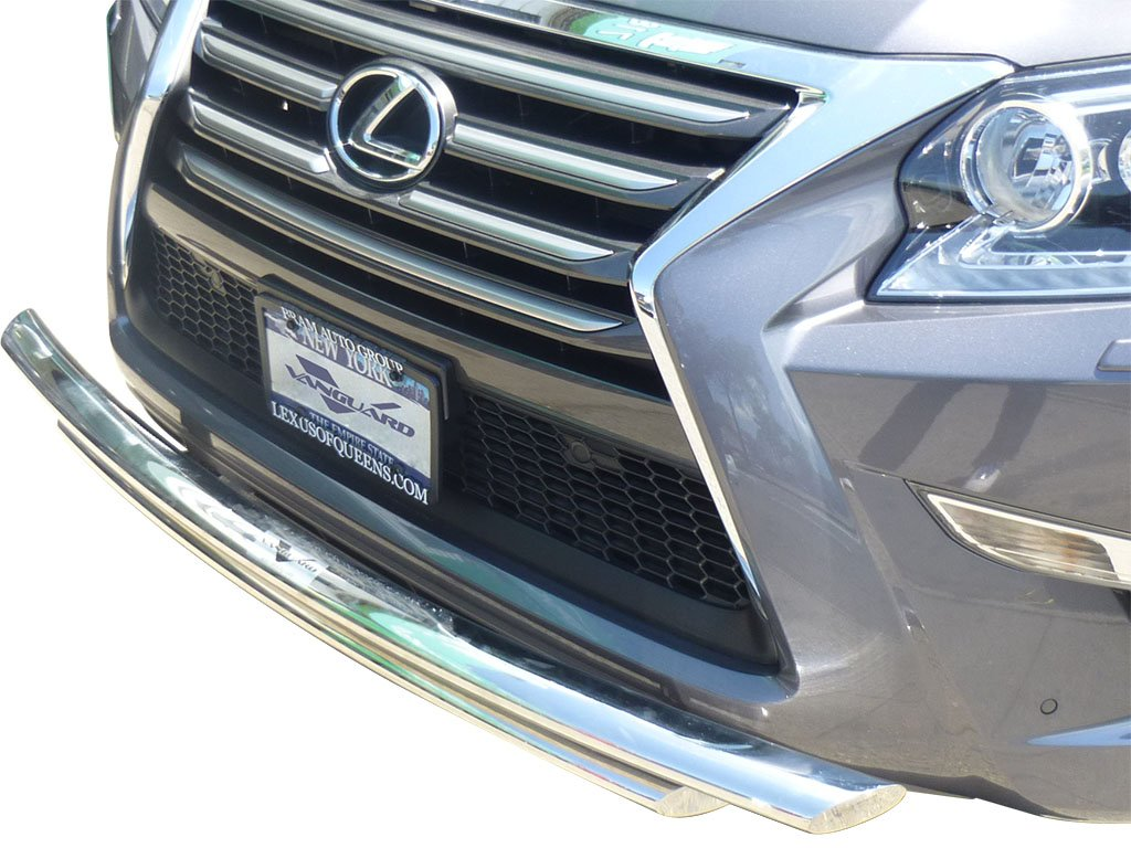 Vanguard VGUBG-0899-1178SS Compatible with Lexus GX460 2010-2017 Front Bumper Guard Double Layer S//S