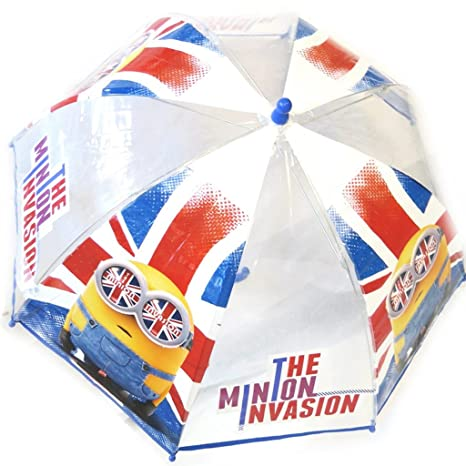 Paraguas infantil Minionsunion jack - transparentes ...