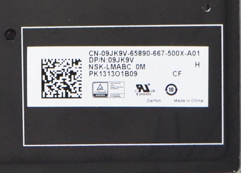 7275 9250 E7270 E5270 French Backlit Laptop Replacement French Keyboard PK1313O1B34 NSK-LMABC 2M 82 Black Darfon LMALN KL Clavier Latitude 12 New 9JK9V Genuine OEM Dell XPS 12