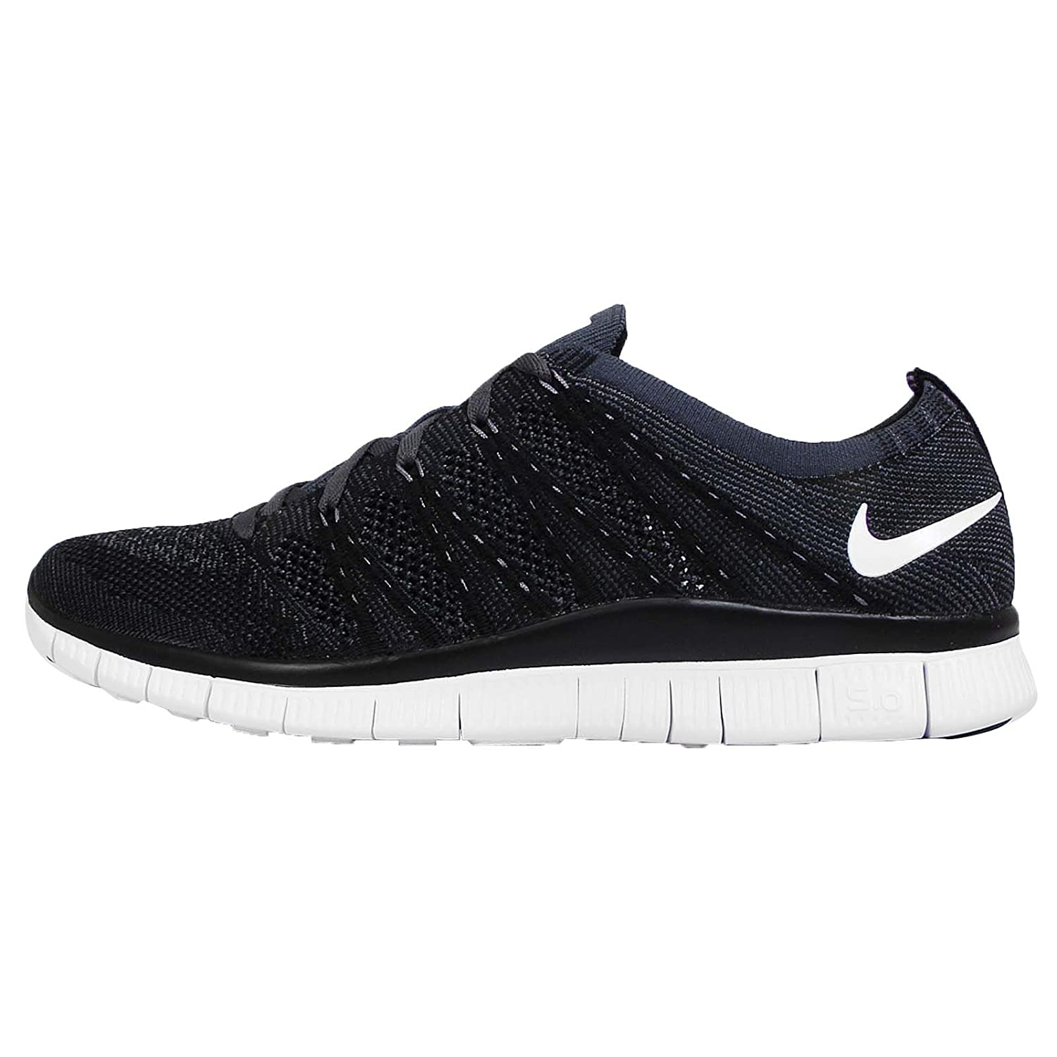 41d770caf3856 Nike Free Flyknit NSW 5.0 Mens Running Trainers Shoes Black Anthracite  (UK-6 EUR-40 US-7)  Amazon.co.uk  Shoes   Bags
