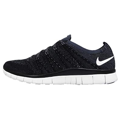 new styles 81ec2 fcc3f Nike Free Flyknit NSW 5.0 Mens Running Trainers Shoes Black Anthracite  (UK-6 EUR-40 US-7)  Amazon.co.uk  Shoes   Bags