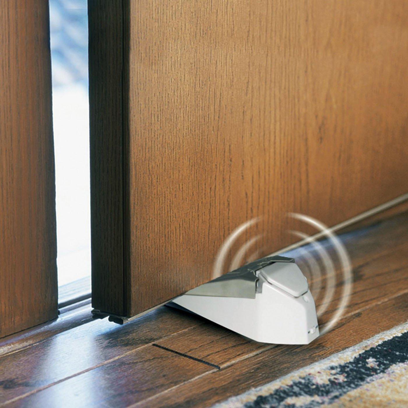 GE Metal Under Door Stopper Blocker Security Alarm System