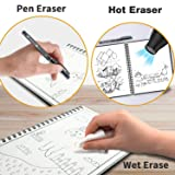 WOBEECO Reusable Smart Notebook, 40 Pages Letter