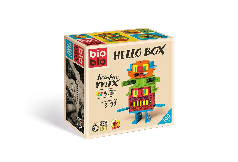 Bioblo Hello Box 100 Teile Spielzeug Bau- & Konstruktionsspielzeug-sets