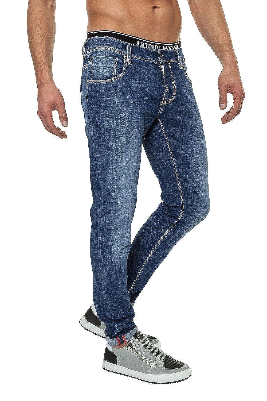Antony Morato hombre Skinny Jeans Slim Fit DENIM pantalones ...