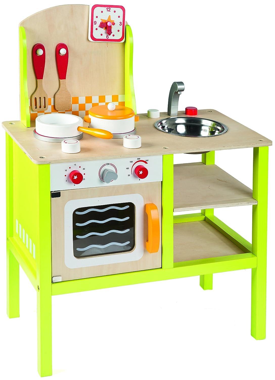 Idee+spiel 400-40086 Kinder-Spielküche aus Holz
