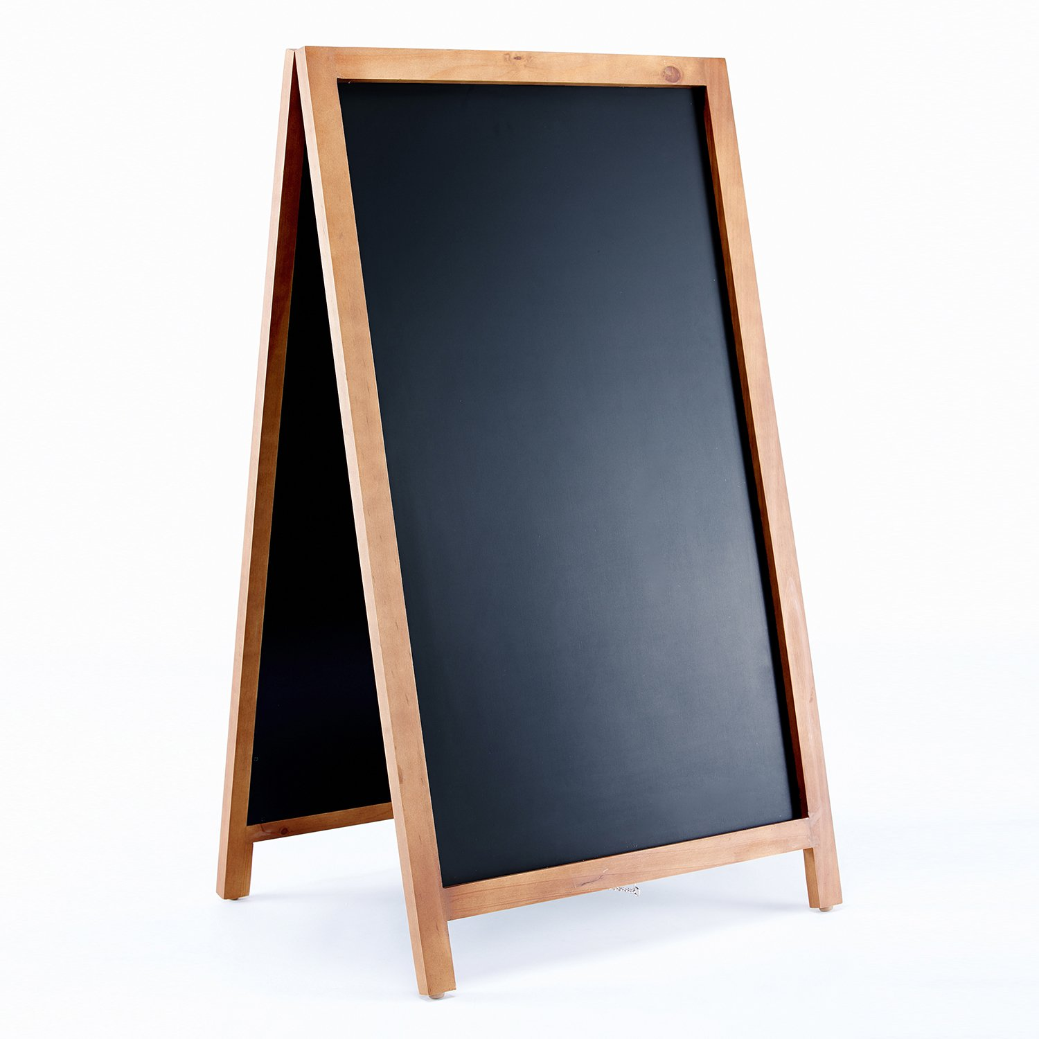 Amazon.com : Vintage Wooden Magnetic A Frame Chalkboard Sign for ...
