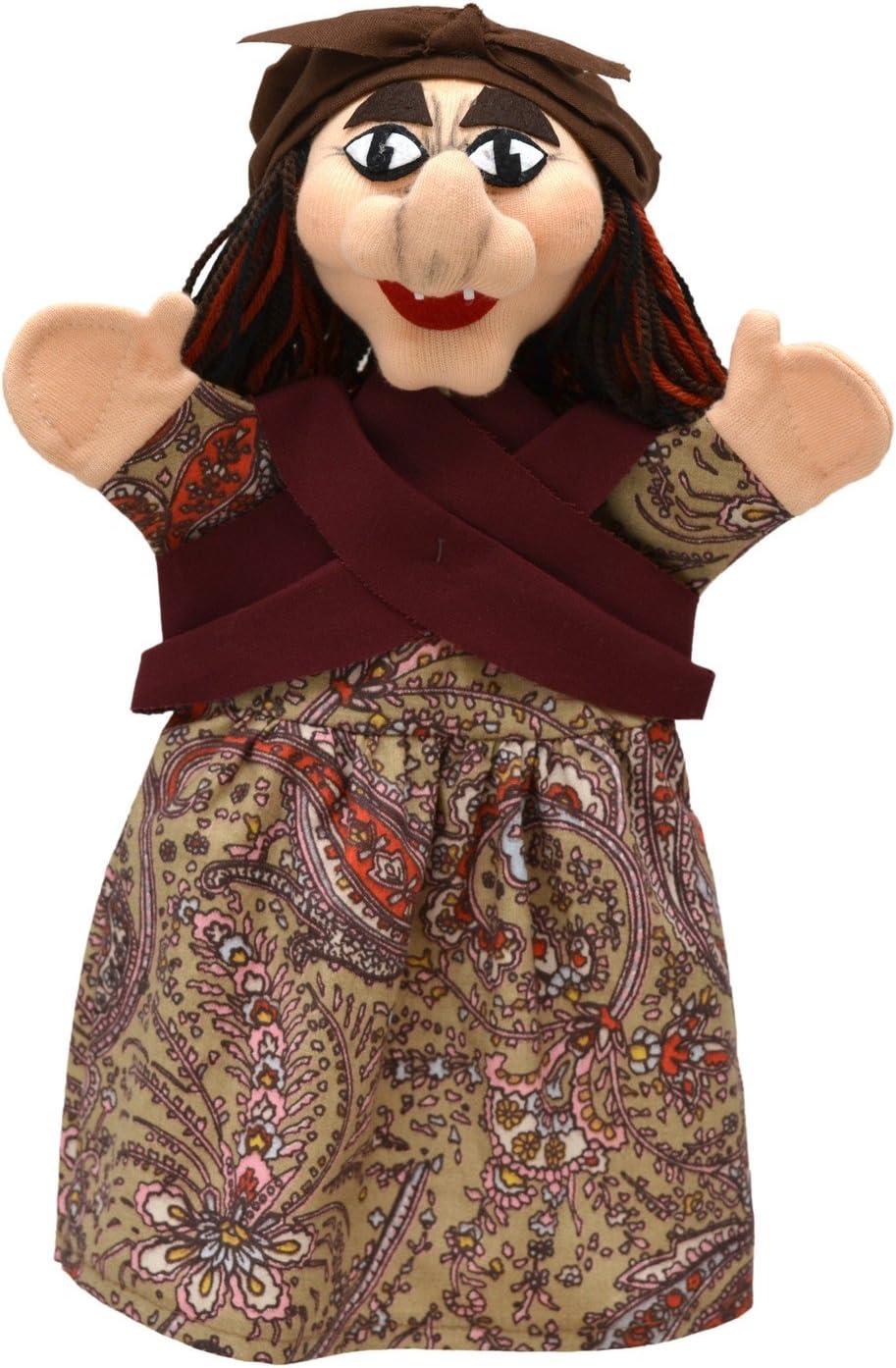 ABA Marioneta de Mano con Forma de Bruja ABA71134 (28 cm)