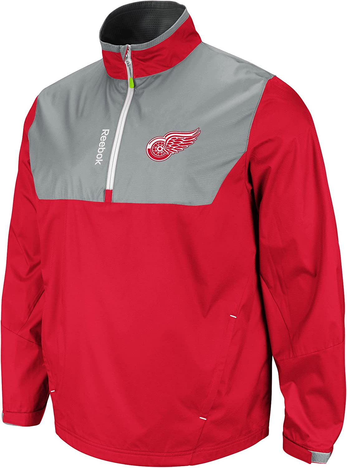 NHL Detroit Fashionable Red discount Wings Ice Jacket Center Hot