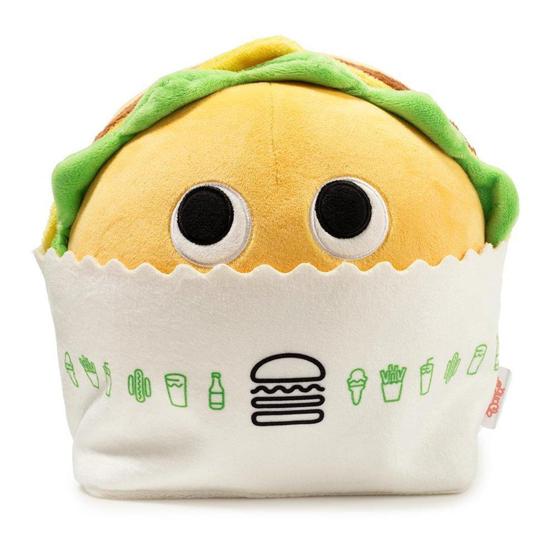 : ~8 Yummy World Plush Shake Shack Exclusive Kidrobot Shack Burger 1 Official Yummy Mini-Item Goodie Bundle BCC94P544