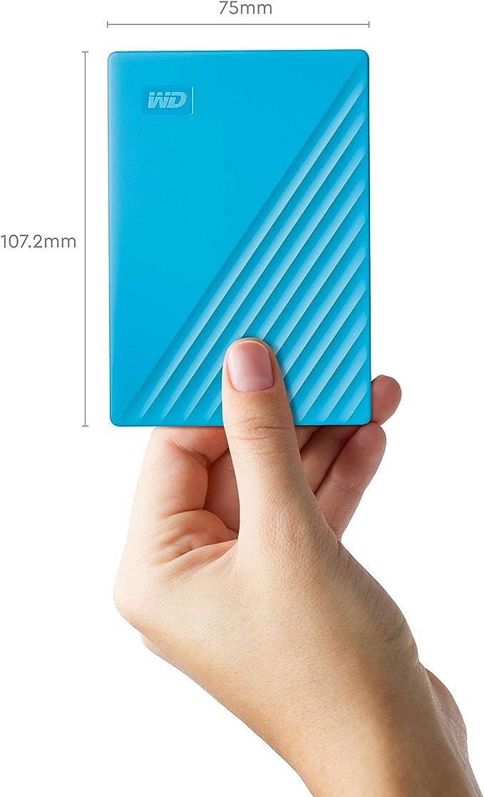 WD 西部数据 My Passport 4TB 2.5寸移动硬盘 8.3折$99.99 海淘转运到手约¥728