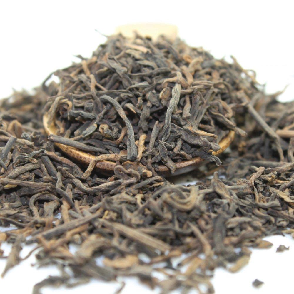 Tealyra - Ripe Pu'erh Tea - 5 Years Aged Loose Leaf - 100% Natural And Organic - Caffeine Level High - Weight Loss Tea - Aged Black Tea Pu Er - 113g (4-ounce)