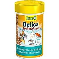TetraDelica Krill (natuurlijke voeding voor siervissen, bevat 100% gevriesdroogde krill), 100 ml blik