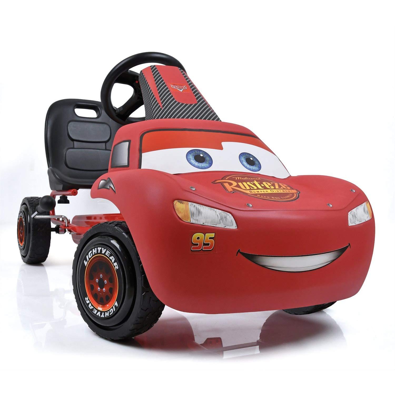 Hauck T-94101 Disney Cars Lightning McQueen GoKart