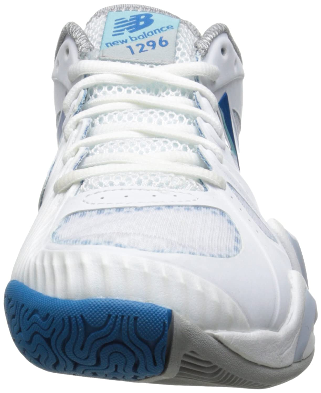 New Balance Damen 1296 Tennis Schuh, Weiß - Weiß/Blau - Größe: 44 EU C/D:  Amazon.de: Schuhe & Handtaschen