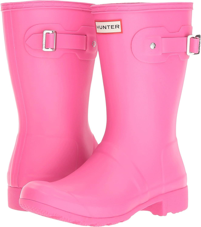 Hunters Boots Women's Original 9 Tour Short Boots B06ZYKDBQC 9 Original M US|Ion Pink 6cdfe8