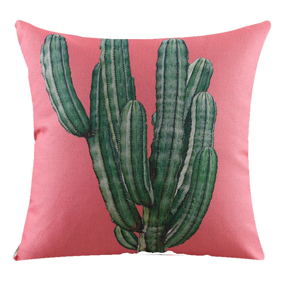 JINZA Nordische tropische Kaktus-Anlage lässt Sofakissen   Baumwolldekoration Baumwolldekoration Baumwolldekoration Südostasien-Griff-Kissen durch Kissen 450mm  450mm , q5601 B07CFWQD63 Kopfkissenbezüge 13bfdf