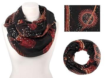 Écharpe tube snood boucle cache col d été printemps demi-saison Foulard  accessoire vêtement d63810a2553
