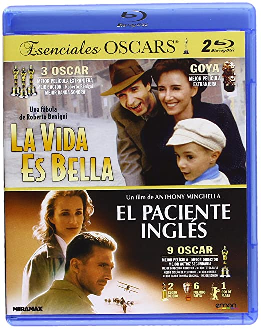 Pack: El Paciente Inglés + La Vida Es Bella [Blu-ray]: Amazon.es ...