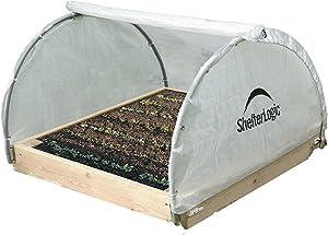 ShelterLogic GrowIT Round Raised Bed Greenhouse, 4 x 4 x 2 ft.