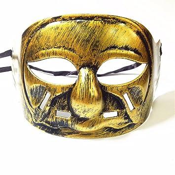 PromMask Mascara Facial Careta Protector de Cara dominó Frente Falso Halloween máscara máscara de Caballero máscara