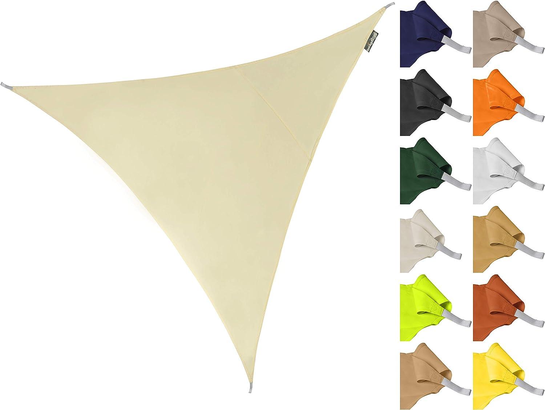 Kookaburra Sonnensegel Wasserabweisend 3,0m Dreieck Anthrazit