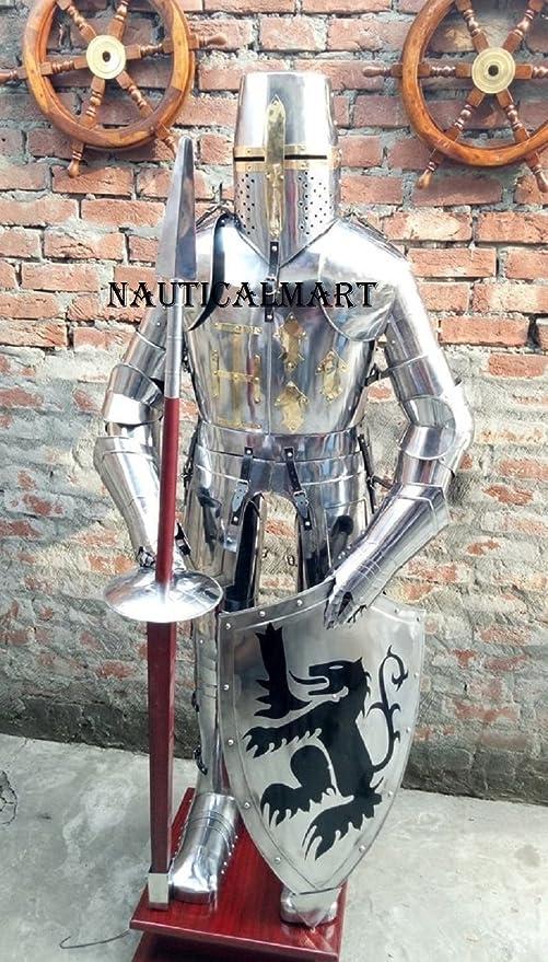 Amazon.com: Nauticalart, traje medieval de caballero de ...