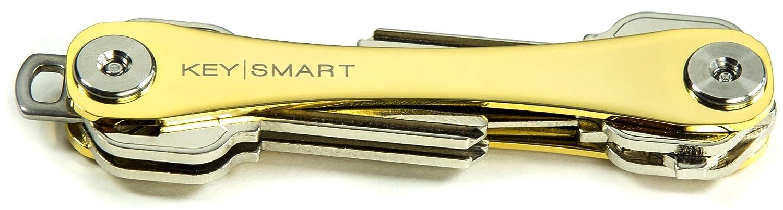KeySmart - Llavero con caja de regalo (2 – 8 llaves, edición oro de 24 K)