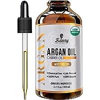 Kanzy Arganolja Bio Kallpressad 100ml Argan oil for Hair, ansikte och naglar i violett glasflaska rik på vitaminer för…