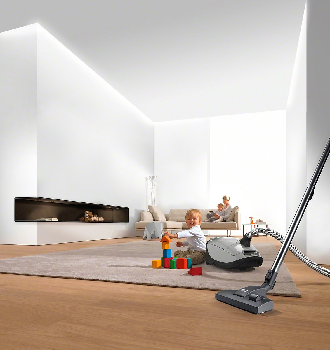 Miele SBD 285-3 Classic Combination Smooth Floor Brush (S2/S4/S5/S6/S700) by Miele